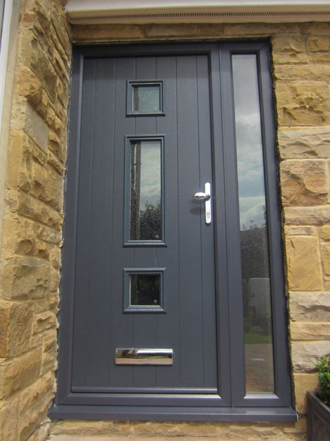 UPVC Door Anthracite
