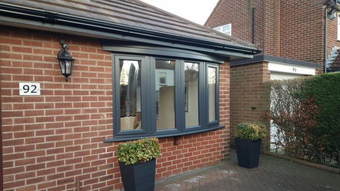UPVC Windows Anthracite