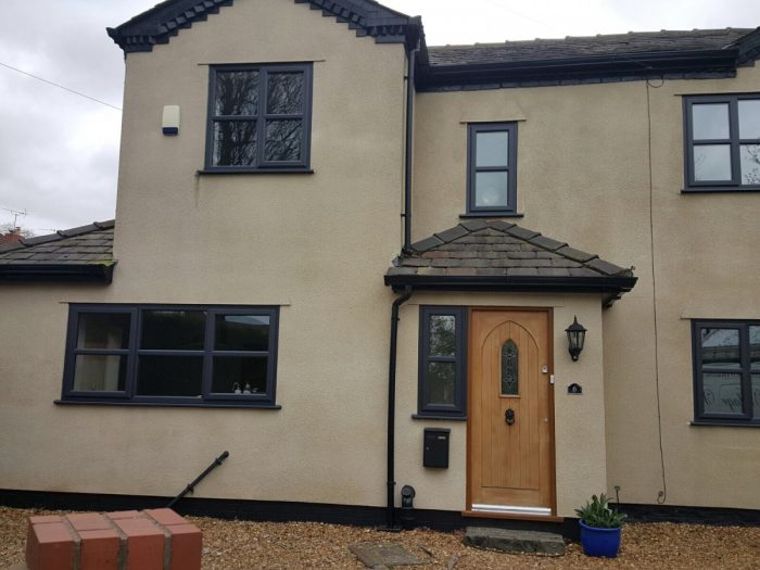 UPVC Windows and Flashings Anthracite